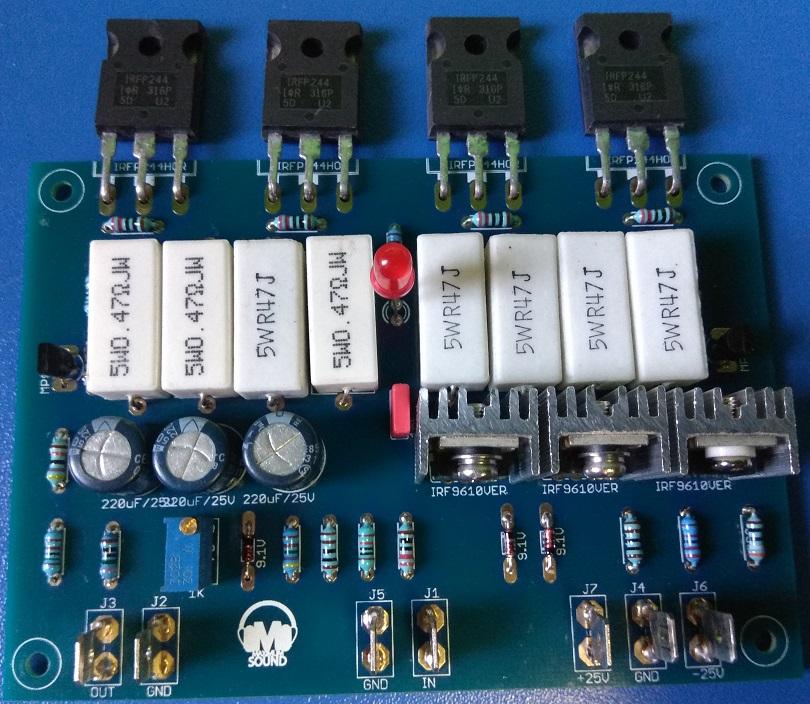 Aleph 3 30W A class Amplifier